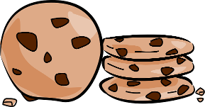 chocolate chip cookie clipart - Chocolate Chip Cookies Clipart