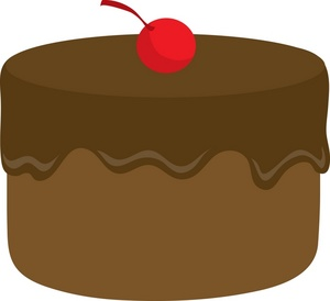 Chocolate Clip Art u0026middo - Chocolate Cake Clipart