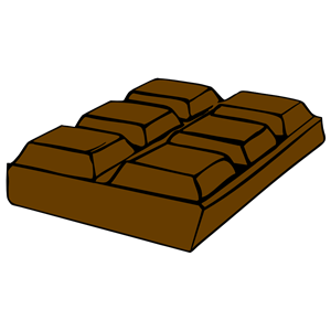 Chocolate Bar Clipart - Blogsbeta