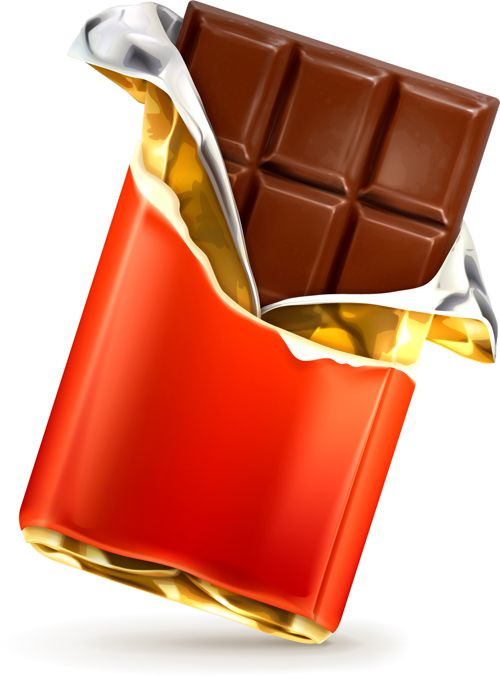 Chocolate bar clipart free - ClipartFox