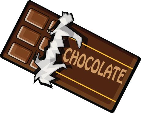 Chocolate Bar vector art .-Chocolate Bar vector art .-4