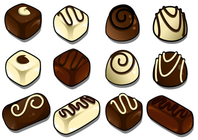 Chocolate black white clipart clipart kid