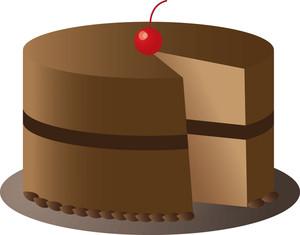 Chocolate Cake Clip Art Images Chocolate Cake Stock Photos Clipart