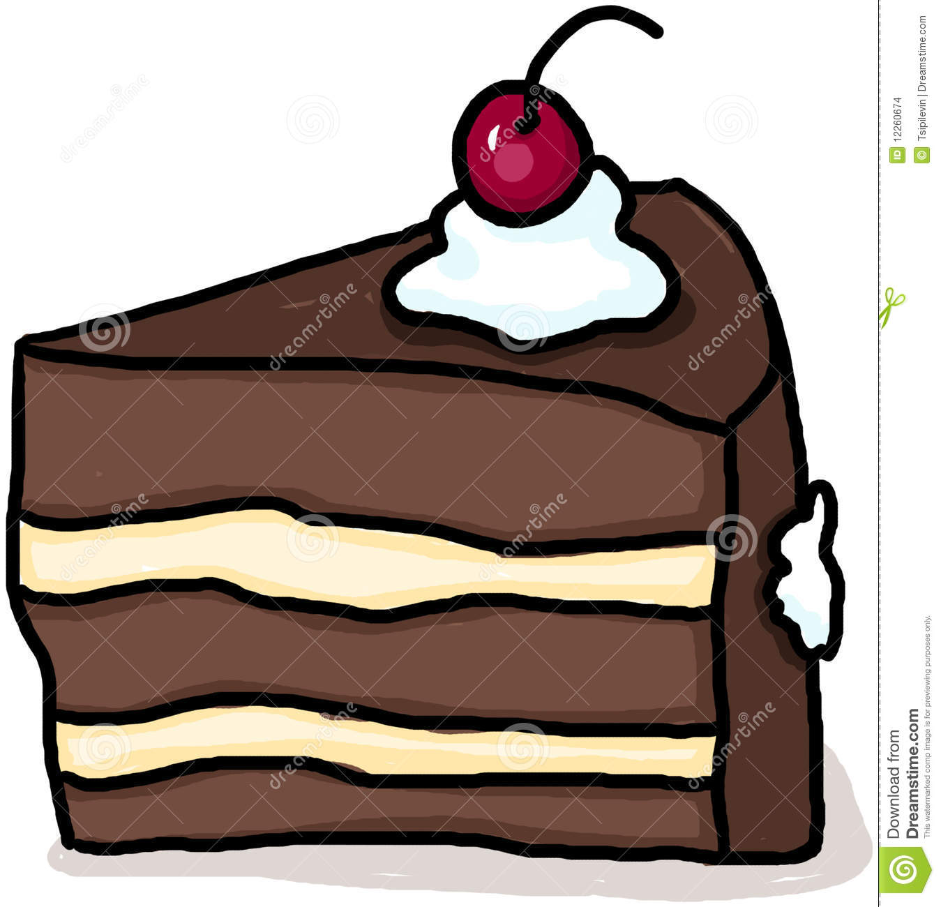 Chocolate Cake Clipart Clipart Panda Free Clipart Images
