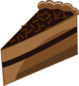 Chocolate Cake Clipart Image