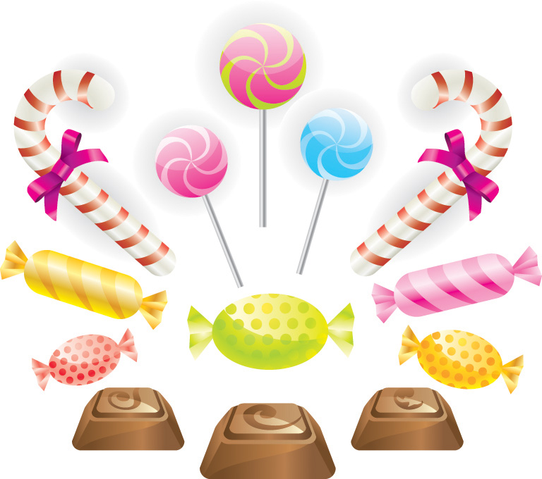 Chocolate candy clip art .