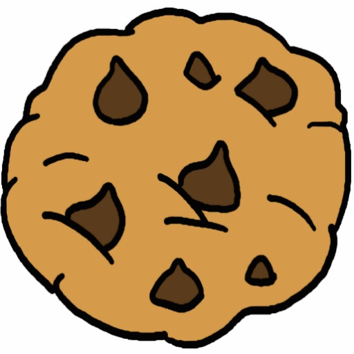 Chocolate Chip Cookie Clip Ar - Chocolate Chip Cookies Clipart