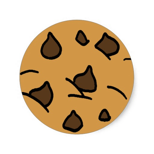 Chocolate chip cookie clipart 3