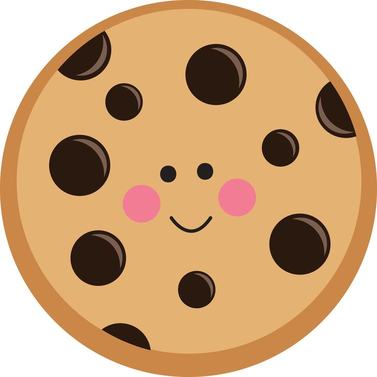 Chocolate chip cookie clipart-Chocolate chip cookie clipart-4
