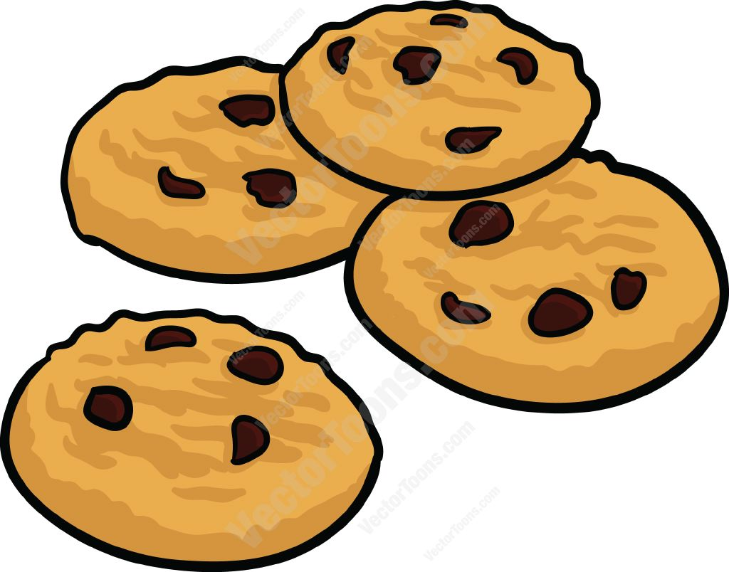 Chocolate Chip Cookies Clipart Cliparts -Chocolate Chip Cookies Clipart Cliparts Co-9