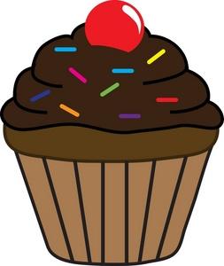 Chocolate Cupcakes Clipart Clipart Panda-Chocolate Cupcakes Clipart Clipart Panda Free Clipart Images-5