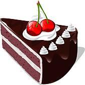 ... chocolate fancy cake ...