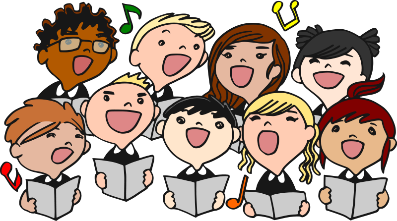 Choir Singing Clip Art This Nice Clip Art Of Children