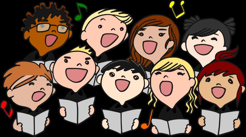 Choir Singing Clip Art This Nice Clip Art Of Children