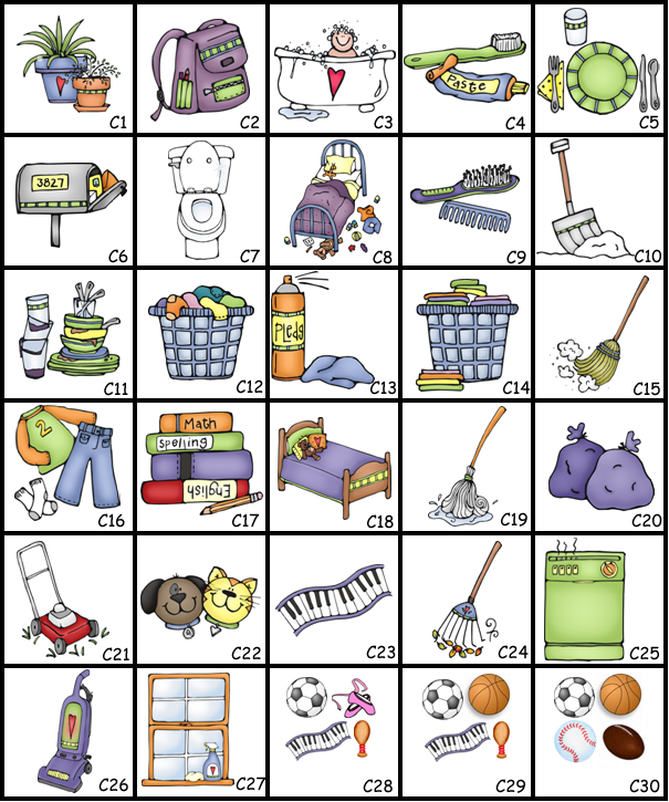 chore chart clipart - Google Search | Fa-chore chart clipart - Google Search | Family Management | Pinterest | I am, Chore chart pictures and Magnets-19