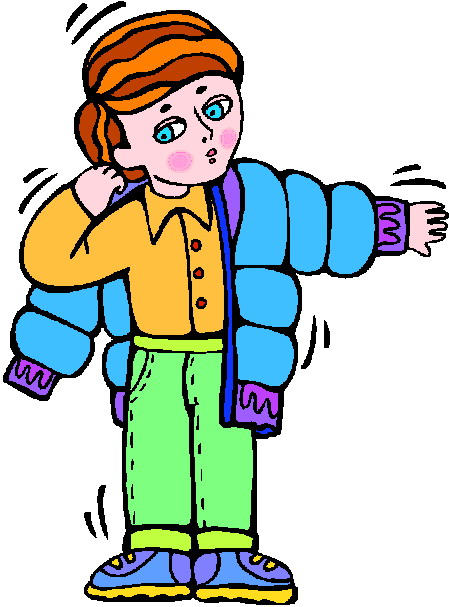 Chore Get Dressed Clipart Fre - Getting Dressed Clipart