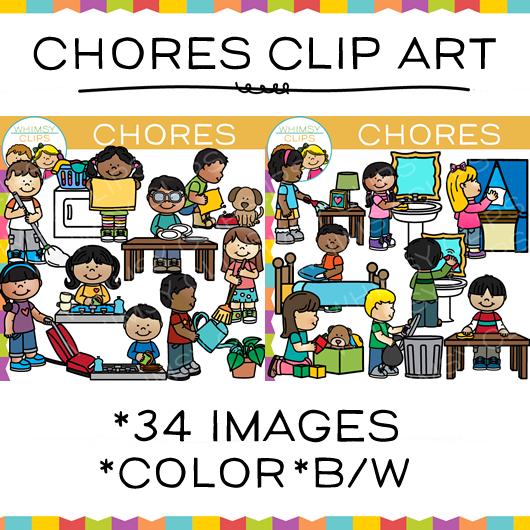 Chores Clip Art-Chores Clip Art-5