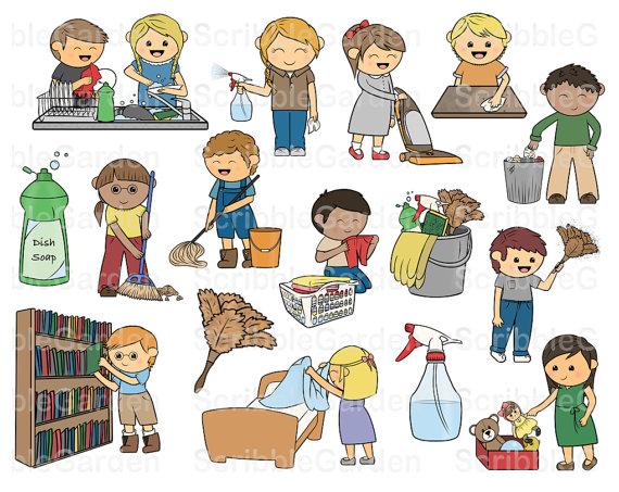 Chores Clip Art Clipartall Chore Chart A-Chores clip art clipartall chore chart art-7