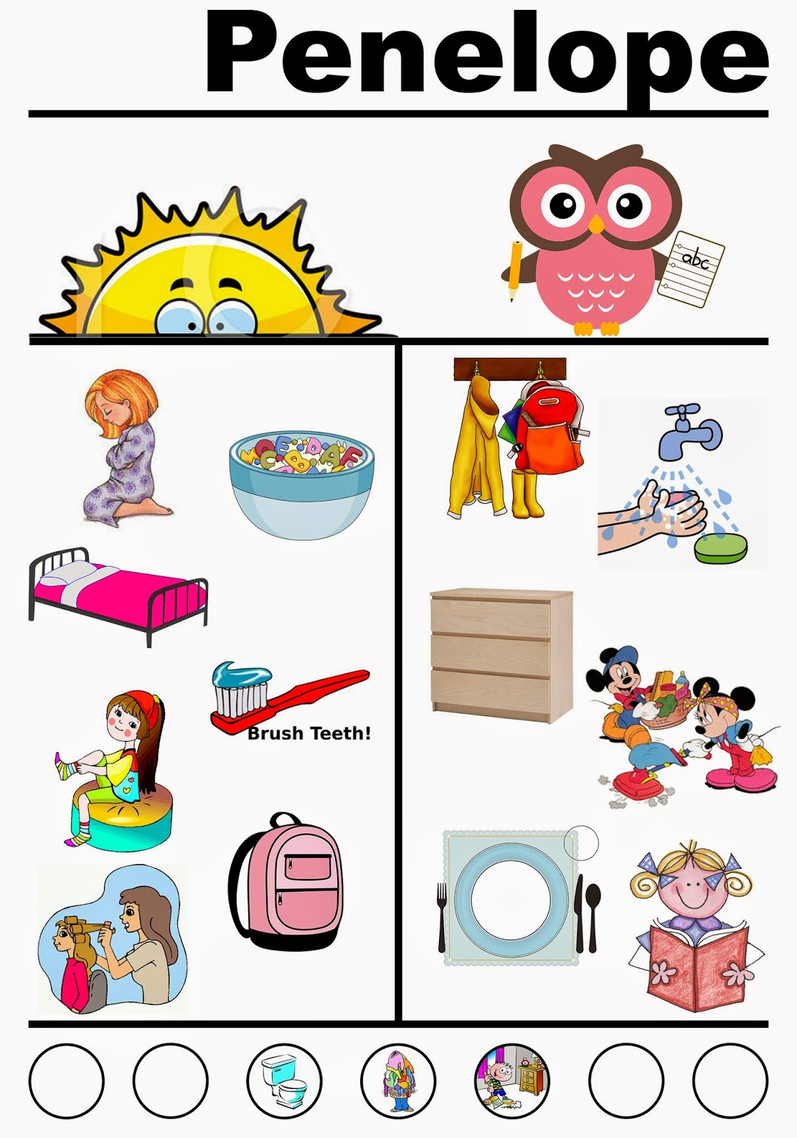 Chores For Kids Clipart.-Chores For Kids Clipart.-16