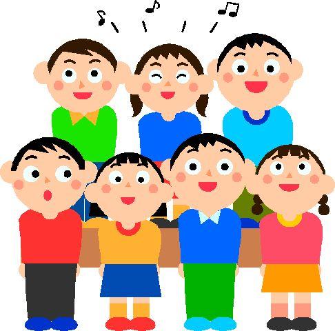 Chorus Singing Clipart. Pictures Of Peop-Chorus Singing Clipart. Pictures Of People Singing In Church-12