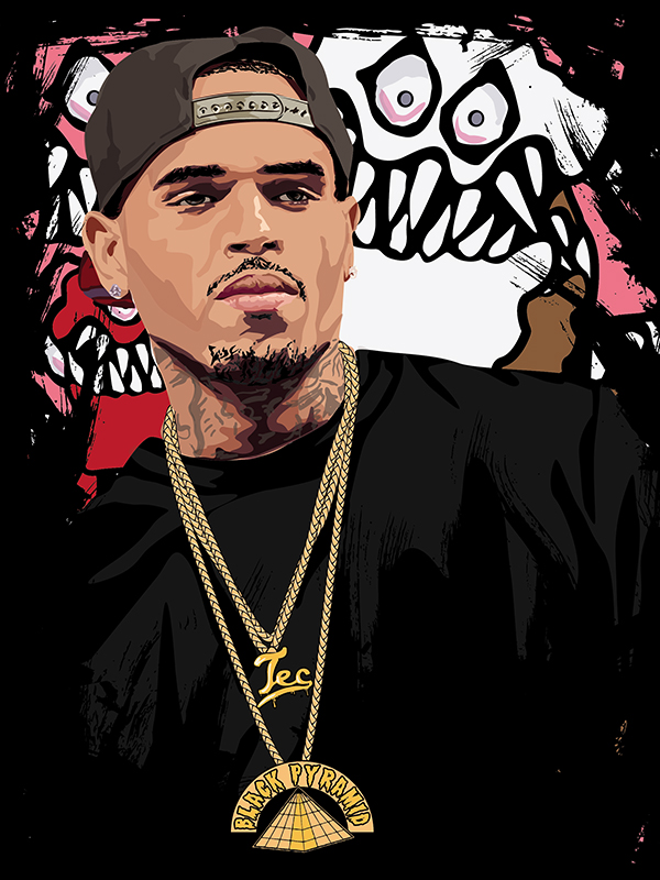 31 chris brown clipart clipartlook