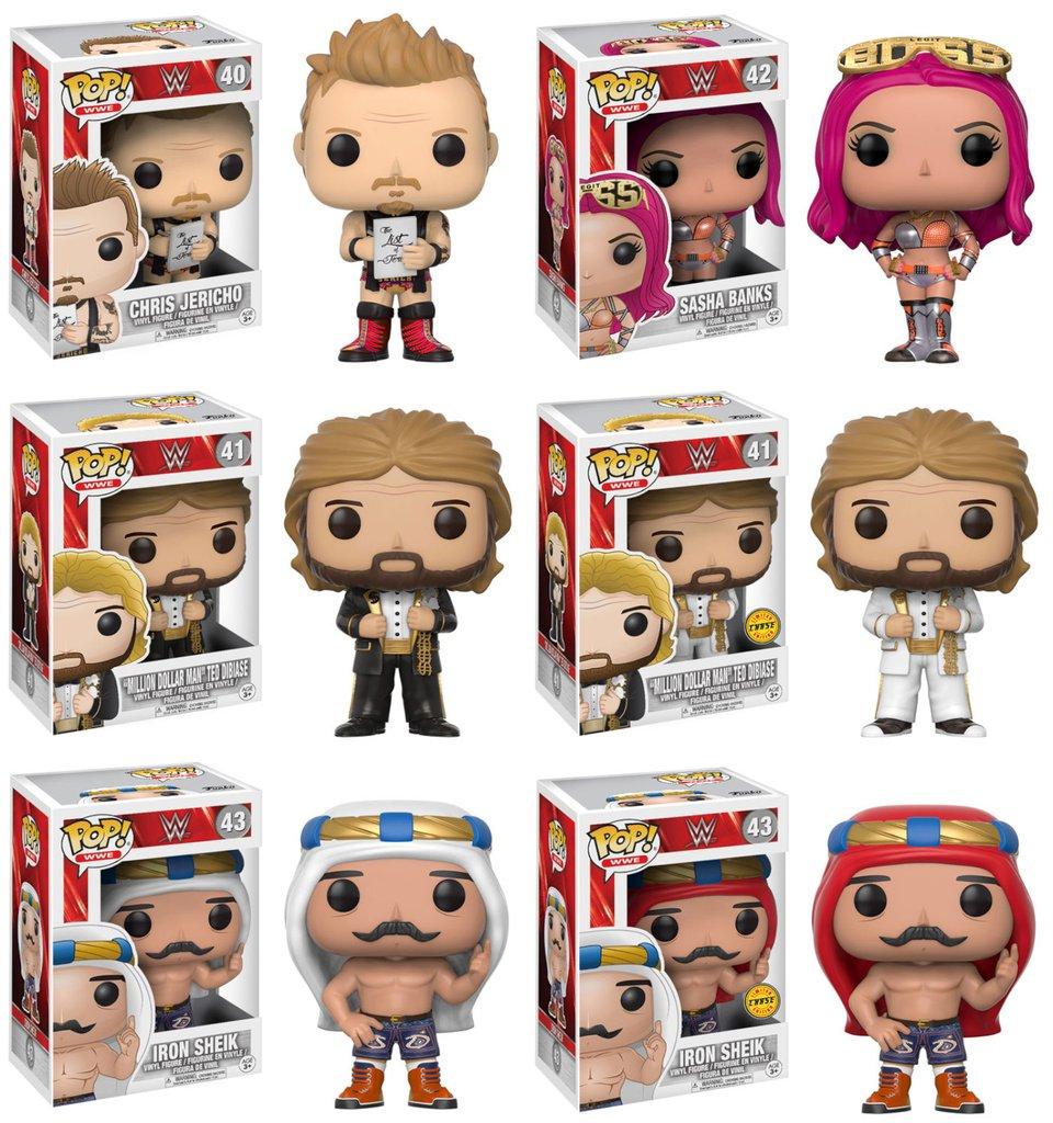 WWE - Set of 6 Chase Bundle