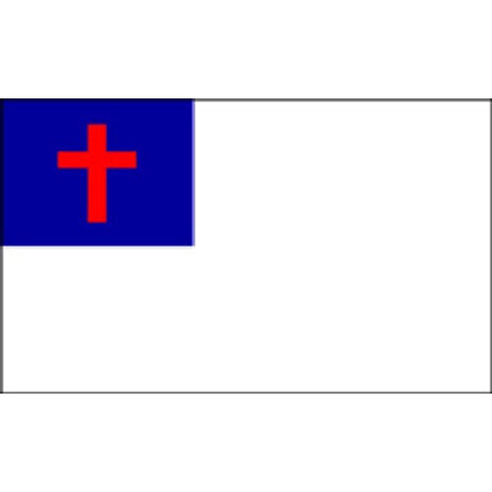 Christian Flag Clip Art