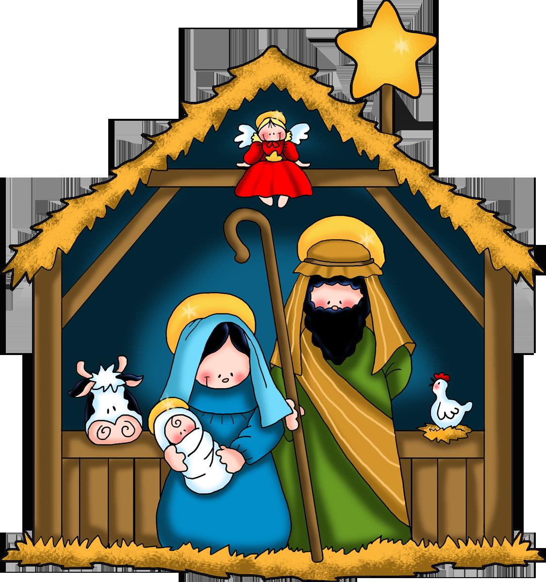 Christian Nativity Clipart-Christian Nativity Clipart-4