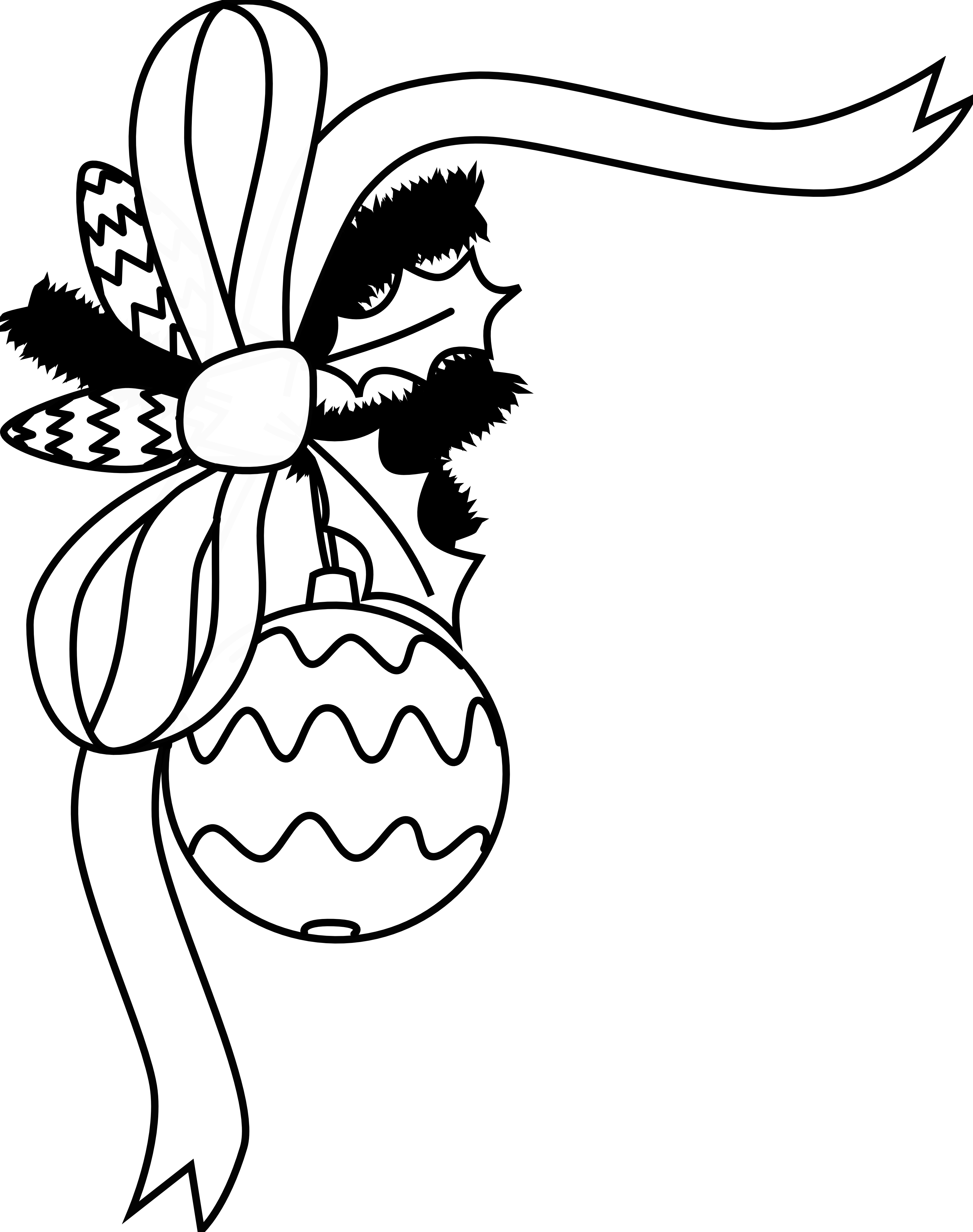 Christmas Border Clipart Black And White-christmas border clipart black and white-4