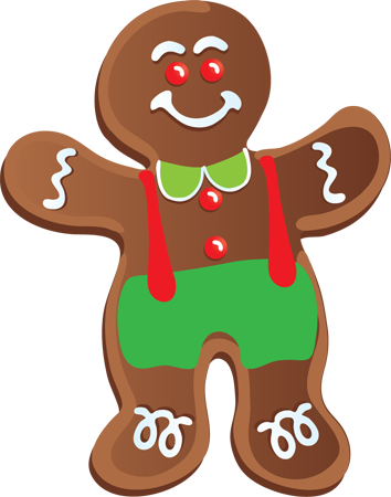 christmas cookie border clipart-christmas cookie border clipart-1