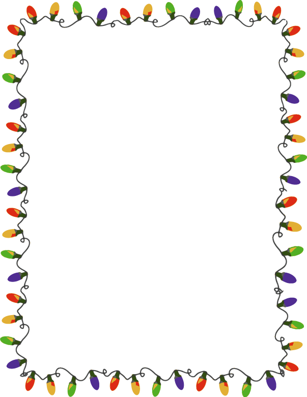 christmas lights border clipa - Christmas Lights Border Clip Art