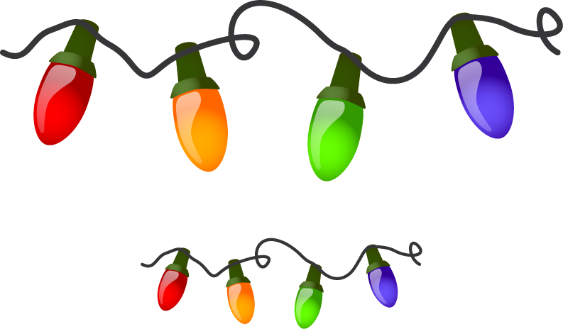 christmas lights border clipart-christmas lights border clipart-2