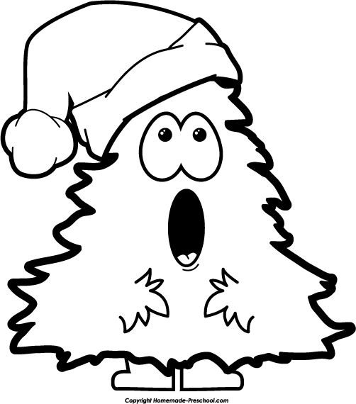 Christmas Nativity Clipart Black And Whi-christmas nativity clipart black and white-7