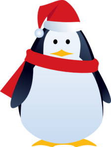 Christmas Penguin Clipart-christmas penguin clipart-4