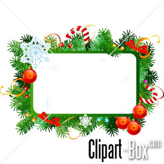Christmas Picture Frame Clip Art-christmas picture frame clip art-3
