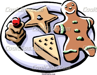 christmas sugar cookie clipart