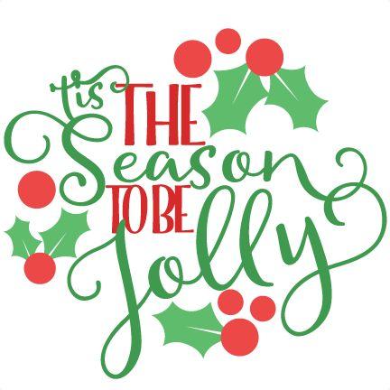 Christmas u0026#39;Tis the Season Phrase SVG scrapbook cut file cute clipart files for silhouette cricut