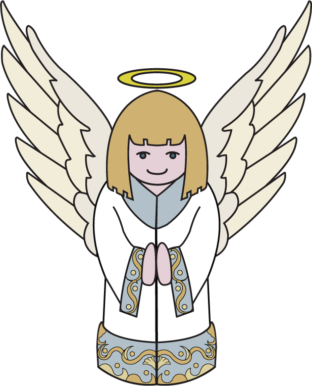 22 Christmas Angel Clip Art