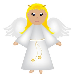 Christmas angel clipart free clipart images
