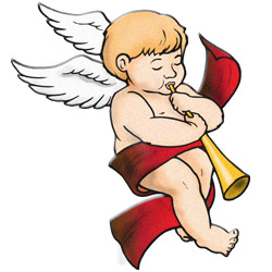 Christmas Angel - Clipart Of Angels
