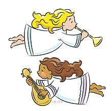 Christmas Angels Clip Art - Christmas Angel Clip Art