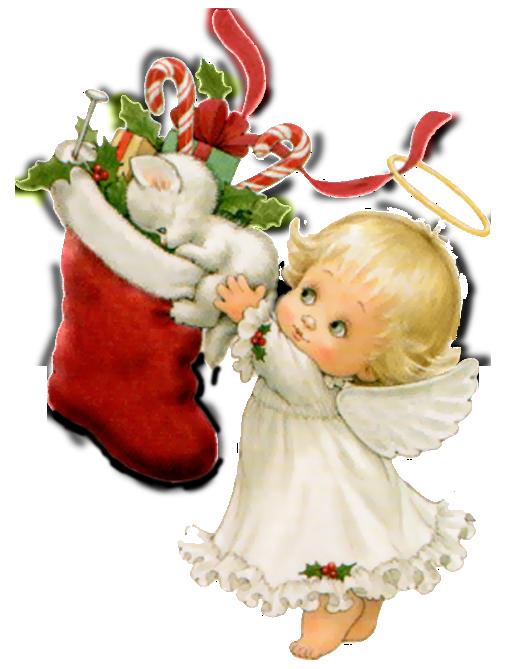 CHRISTMAS ANGELS Clipart .-CHRISTMAS ANGELS Clipart .-13