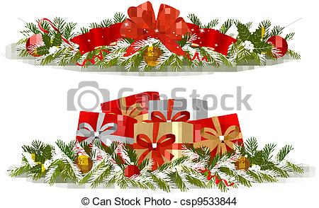 Christmas banners. Vector.