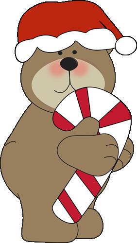 Christmas bear clipart - . - Cute Christmas Clip Art