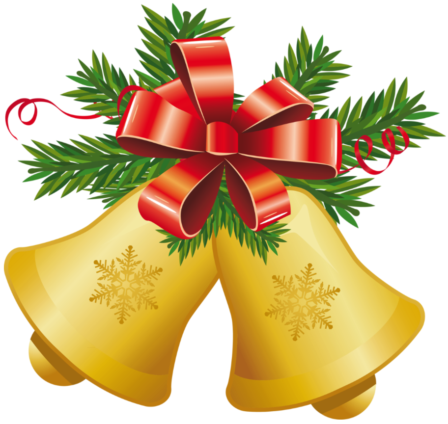 Christmas Bell Clipart Best. Transparent Christmas Yellow .