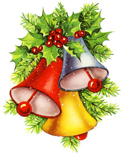 christmas bells clip art .