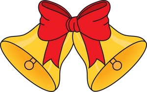 Christmas bells clip art free clipart images