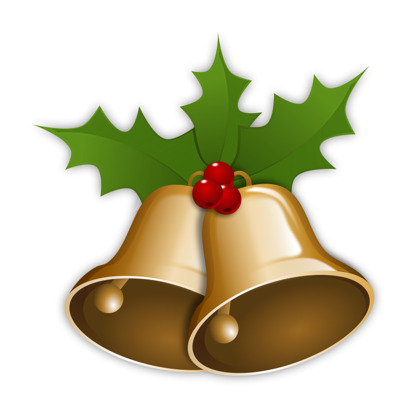 Christmas Bells Clip Art Images Free For Commercial Use