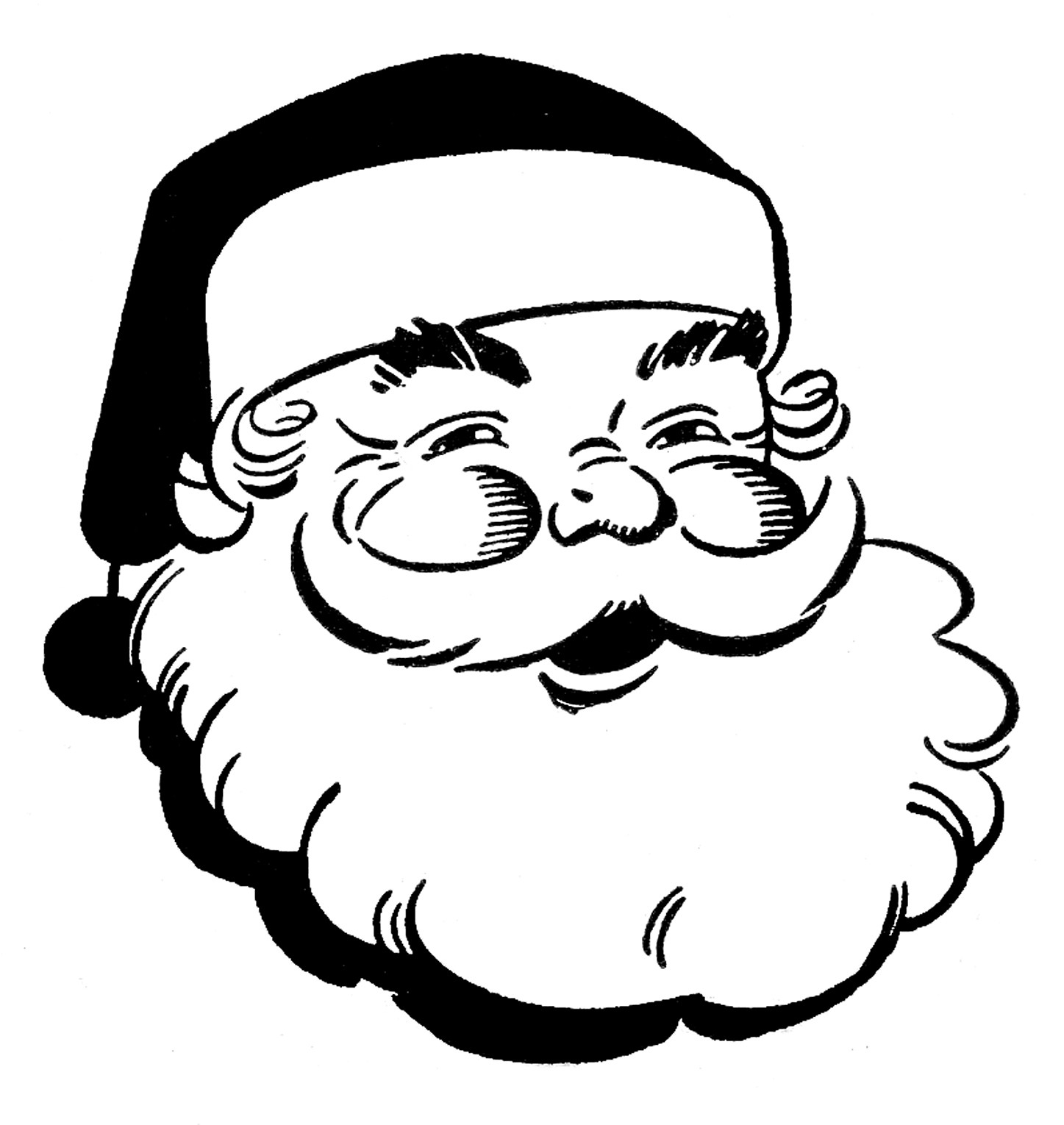 Christmas Black And White Table Clipart -Christmas black and white table clipart black and white-7