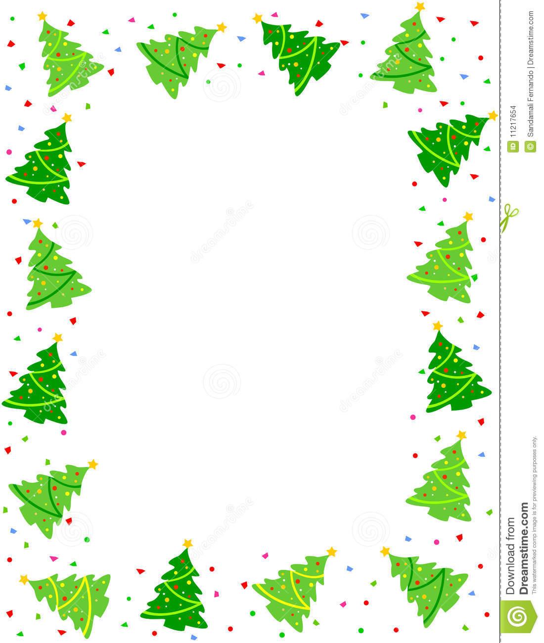 Christmas border clip art - . - Christmas Clipart Borders